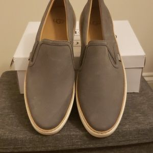 Brand new, without box Ugg leather slip- ons